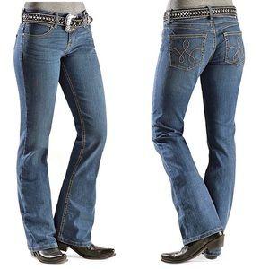 Wrangler Women's Premium Patch Booty Up Jean